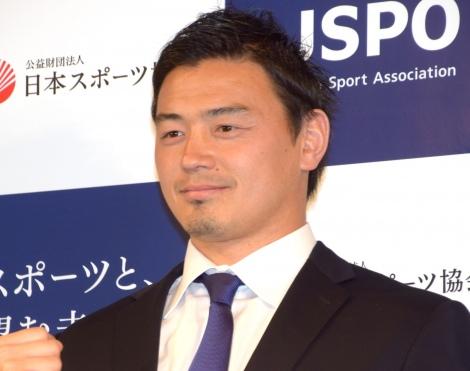 『日本スポーツ協会』名称変更記者発表会に出席した五郎丸歩選手 (C)ORICON NewS inc.