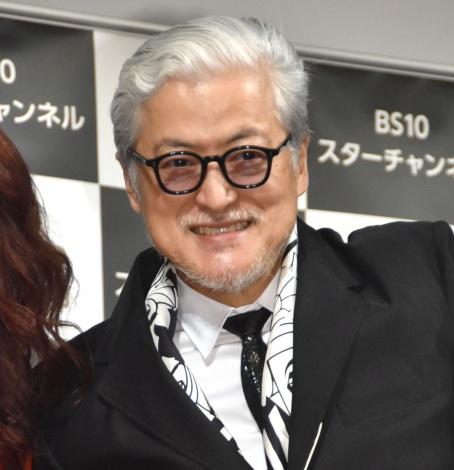 『第2回 BS10 スターチャンネル映画予告編大賞』授賞式に出席した陣内孝則 (C)ORICON NewS inc.