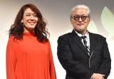 『第2回 BS10 スターチャンネル映画予告編大賞』授賞式に出席した(左から)LiLiCo、陣内孝則 (C)ORICON NewS inc.
