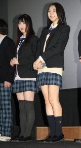 (左から)上野優華、武田玲奈 (C)ORICON NewS inc.