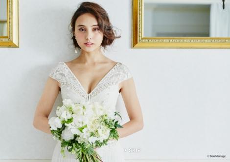 サムネイル 電子雑誌『Bon Mariage(ボン・マリアージュ)』に登場した石田ニコル