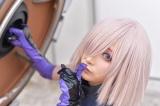 『Fate/Grand Order』のマシュ・キリエライトに扮していた人気コスプレイヤー・カモミールさん (C)oricon ME inc.