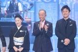 31日放送のフジテレビ系『MUSIC FAIR』に出演する石川さゆり、谷村新司、石丸幹二 (C)フジテレビ