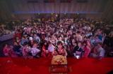 日本一のライブ配信者を決定するイベント『ライバー戦国時代の覇者になれ〜決戦の夜〜』に参加した約150人のライバー達