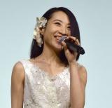 映画『Kalafina 10th Anniversary Film 〜夢が紡ぐ輝きのハーモニー〜』初日舞台あいさつに出席したKalafina・Hikaru