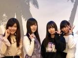 『ラストアイドル』第1期メンバー(左から)山田まひろ、間島和奏、松本ももな、小澤愛実 (C)ORICON NewS inc.