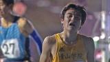 陸上生命をかけて競技会に挑んだ青山学院大学の選手(C)TBS