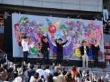 """『パラ駅伝 in Tokyo 2018』香取慎吾原案の""""レゴ壁画""""を公開 (C)ORICON NewS inc."""