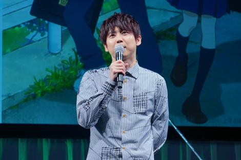 『AnimeJapan2018』のアニメ『からかい上手の高木さん』のステージイベントに出席した梶裕貴