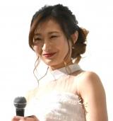 映画『三十路女はロマンチックな夢を見るか?』初日舞台あいさつに出席した武田梨奈 (C)ORICON NewS inc.