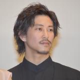 映画『honey』初日舞台あいさつに登壇した佐野岳 (C)ORICON NewS inc.