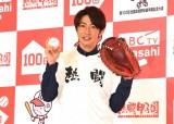 『熱闘!高校野球100回スペシャルナビゲーター』に就任した相葉雅紀 (C)ORICON NewS inc.