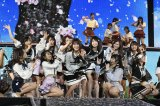 AKB48入山杏奈(中央)がメキシコ留学前最後のライブ (C)AKS