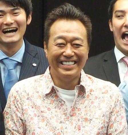 テレビ東京の入社式にサプライズ登場したさまぁ〜ず・三村マサカズ (C)ORICON NewS inc.
