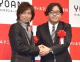 (左から)つんく♂、秋元康氏 (C)ORICON NewS inc.