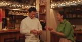 イタリアシェフの桝谷周一郎と、お笑い芸人・北陽の虻川美穂子夫婦が『グラン』の食レポに挑戦。