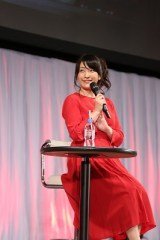 『Fate/EXTRA Last Encore』スペシャルトークステージに出席した植田佳奈
