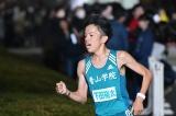 3月31日放送、TBS系『オールスター感謝祭'18春』より。赤坂ミニマラソンを激走した青山学院大学の下田裕太選手。学生生活ラストランを優勝で飾った(C)TBS
