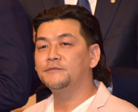 テレビ朝日の入社式に出席したサンドウィッチマン・富澤たけし (C)ORICON NewS inc.