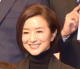 テレビ朝日の入社式に出席した鈴木京香 (C)ORICON NewS inc.