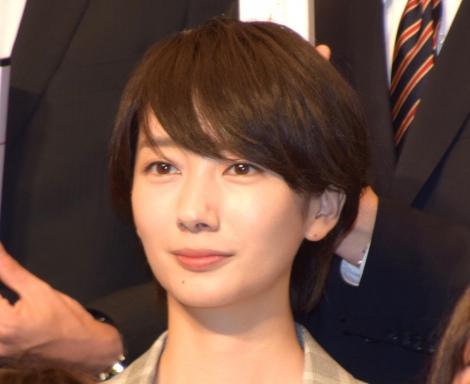 テレビ朝日の入社式に出席した波瑠 (C)ORICON NewS inc.
