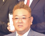 テレビ朝日の入社式に出席したサンドウィッチマン・伊達みきお (C)ORICON NewS inc.