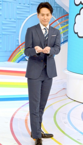 日本テレビ系朝の情報番組『ZIP!』に火曜メインパーソナリティーとして初出演した三代目 J Soul Brothers・山下健二郎 (C)ORICON NewS inc.