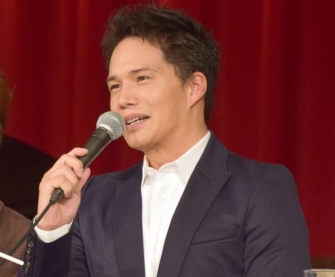 ミュージカル『生きる』の製作発表会見に出席した市原隼人 (C)ORICON NewS inc.