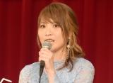 ミュージカル『生きる』の製作発表会見に出席したMay'n (C)ORICON NewS inc.