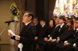 弔辞を読んだ加藤茶=左とん平さんのお別れの会がしめやかに