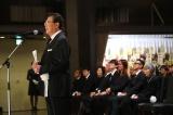 弔辞を読んだ里見浩太朗=左とん平さんのお別れの会がしめやかに