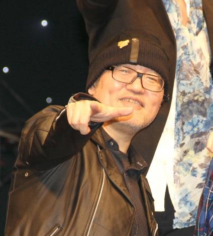 『名探偵コナン ゼロの執行人』の完成披露舞台あいさつに出席した青山剛昌氏 (C)ORICON NewS inc.