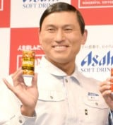 『WONDA 2018年ブランド戦略発表会』に出席したオードリー・春日俊彰 (C)ORICON NewS inc.