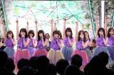 6日放送のフジテレビ系『Love music特別篇 絆のうた』に出演する乃木坂46 (C)フジテレビ