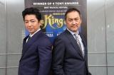 ミュージカル『王様と私』で初共演する渡辺謙、大沢たかお