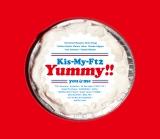 Kis-My-Ft2のニューアルバム『Yummy!!』初回盤Aジャケット