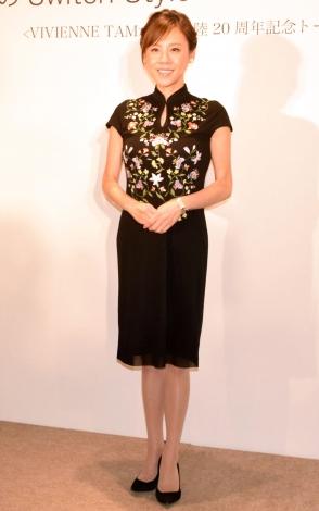 ファッションブランド『ヴィヴィアン・タム』の日本上陸20周年スペシャルトークショーに出席した高橋真麻 (C)ORICON NewS inc.