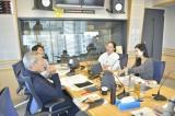 壇蜜の水曜パートナー就任が発表された文化放送『大竹まこと ゴールデンラジオ!』の模様