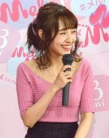 『Mel 1st Party』に登壇した前田希美 (C)ORICON NewS inc.