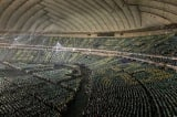 今年2月の東京ドーム公演でのファンからのメッセージ「FOREVER 5HINee」