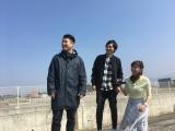 南海放送『和牛のA4ランクを召し上がれ!』の初回収録を行った和牛(水田信二、川西賢志郎)、竹内愛希アナウンサー