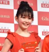 ロッテ「ガーナミルクチョコレート」の新CMキャラクターに就任会見に出席した久間田琳加 (C)ORICON NewS inc.