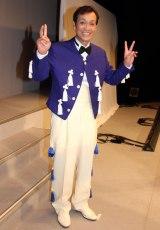 ものまねコンサート『昭和を飾ったあの人この人そして、、、、』の公演後の囲み取材に出席した清水アキラ (C)ORICON NewS inc.