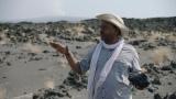NHK・BSプレミアムの本格宇宙番組『コズミック フロント☆NEXT』4月5日放送より。エルタ・アレ火山(エチオピア)のふもとのAyele博士