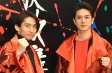 新ユニット「KEN☆Tackey」で今夏CDデビューとなった(左から)V6・三宅健、タッキー&翼・滝沢秀明 (C)ORICON NewS inc.