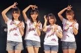 結成4周年記念公演を開催したAKB48チーム8(写真左から)岡部麟、小栗有以、倉野尾成美、太田奈緒 (C)ORICON NewS inc.