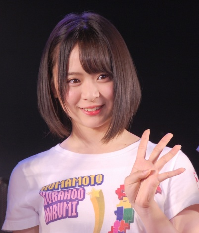 結成4周年記念公演を開催したAKB48チーム8の倉野尾成美 (C)ORICON NewS inc.