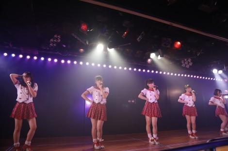 チーム8結成4周年記念公演の模様(C)AKS