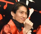 『滝沢歌舞伎2018』公開ゲネプロ後の囲み取材に出席したV6・三宅健 (C)ORICON NewS inc.
