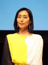 TBS系金曜ドラマ『あなたには帰る家がある』特別試写会に出席した木村多江 (C)ORICON NewS inc.